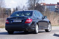 Mercedes-Benz C350 4Matic -tył/bok