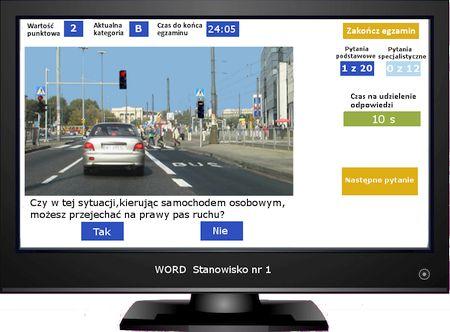 testy na prawo jazdy w usa po polsku
