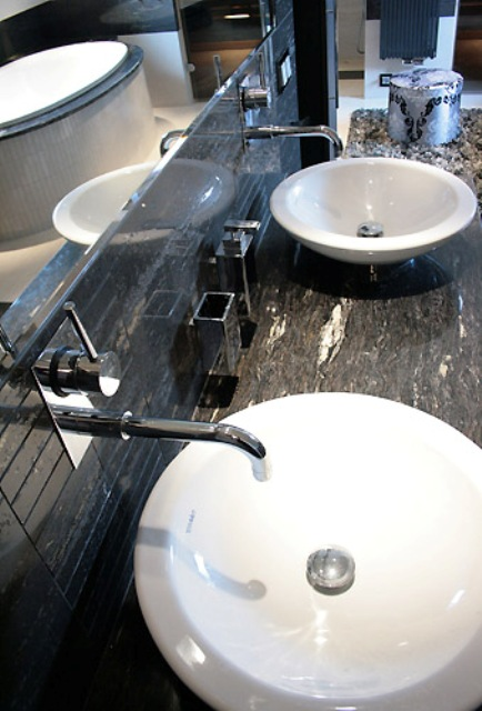 Stylowe łazienki Galeria Projektowanie Wnętrz Wnętrza