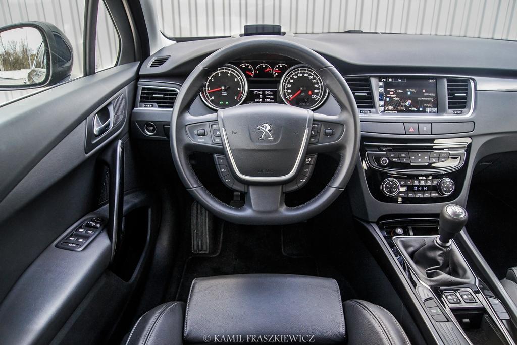 test peugeot 508 1.6 thp 165 km sedan - nowe - testy aut - infor.pl
